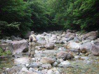 7月23日 王滝川、西野川